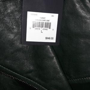 CHELSEA CAFE LEATHER JACKET/JUICY COUTURE